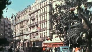 ALGER, LA VILLE EN 1938 EN COULEUR