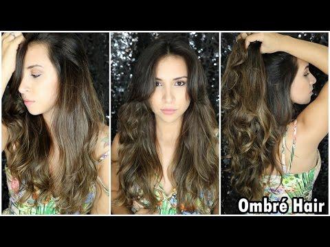 Ombre Hair para Cabelos Escuros/Morena