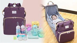 휴대용 침낭 다용도 기저귀 가방 아기 침대 유모차걸이