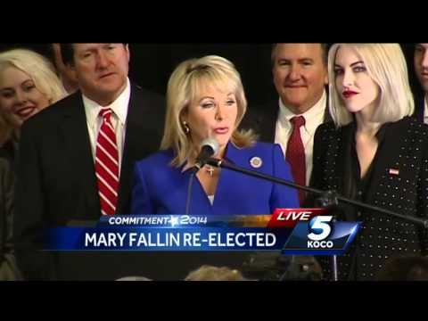 Mary Fallin makes post-election speech