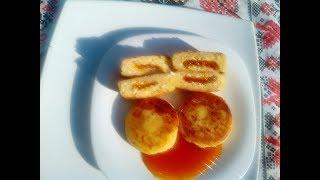 Вкусные сырники с сюрпризом!