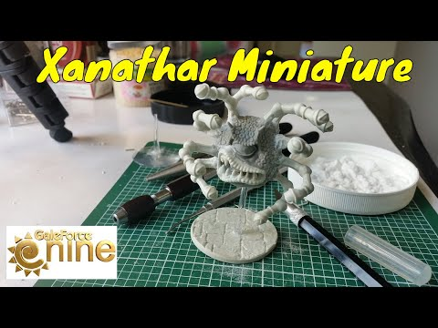 Assembling The Xanathar Beholder Miniature (Gale Force 9) & Chat