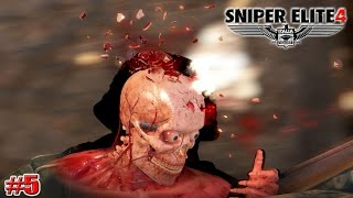 Sniper Elite 4 НАШЛИ ШТАБ (КАМПАНИЯ) (5 серия)