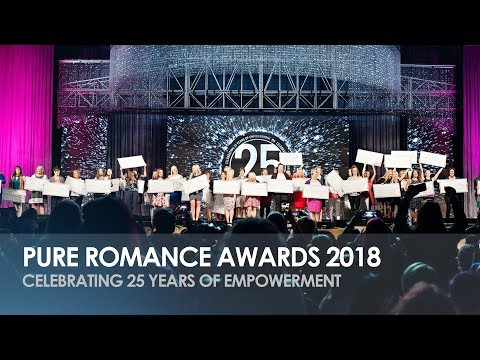 Pure Romance Awards 2018 - Celebrating 25 Years of Empowerment