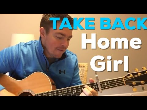 Take Back Home Girl | Chris Lane ft. Tori Kelly | Beginner Guitar Lesson