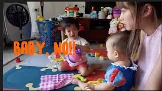 Baby, No! | Babies fighting over toys