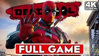 DEADPOOL Gameplay Walkthrough Part 1 FULL GAME [4K 60FPS ULTRA SETTINGS] - No Commentary