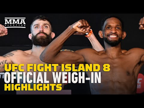 UFC Fight Island 8 Weigh-In Highlights - MMA Fighting