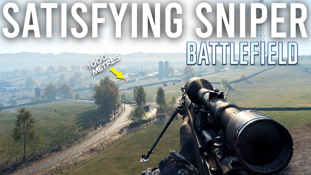 Most Satisfying long range Sniping in Battlefield ASMR