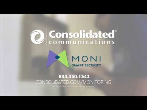 Consolidated Communications Home Automation & Security Powered By MONI