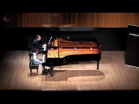 Ryan Huang(7yr) 2018 CMC final- Concerto no.12 K414 in A major (1st mvt) by Mozart