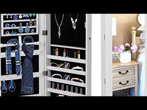 jewelry-armoire-lockable-jewelry-cabinet-wall-door-mounted-jewelry-organizer