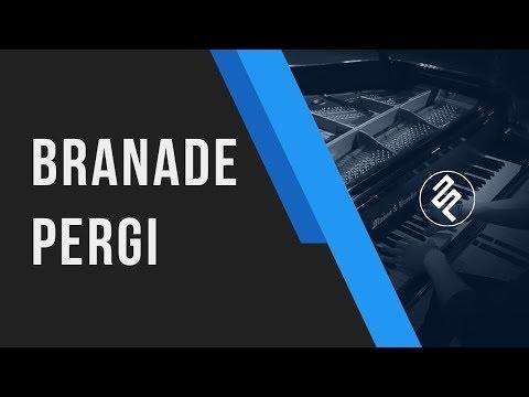 Branade - Pergi Instrumental Piano Cover / Chord / Lirik