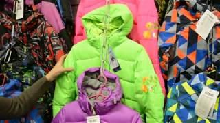Обзор зимней куртки для девочек. Kalborn модель K14-104