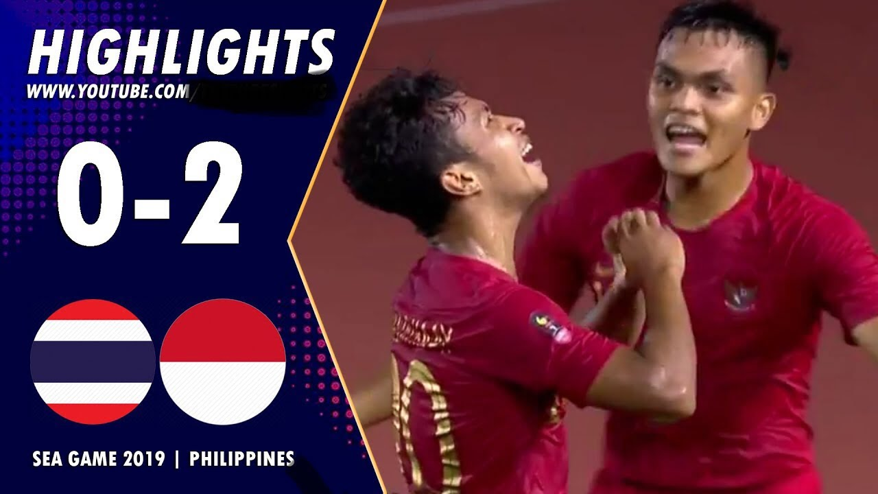 Highlight U22 Indonesia 2-0 U22 Thailand | 26-11-2019 | Seagames 30 2019