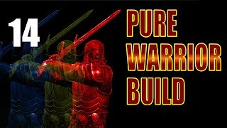 Skyrim Pure Warrior Build Walkthrough SURVIVAL, NO MAGIC Part 14: Canis Root Run in Morthal