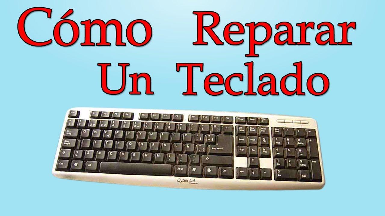 C mo reparar un teclado de pc muy f cil de hacer youtube for Como instalar un estor plegable