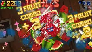 Fruit Ninja Classic High Score: 6787