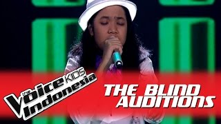 "Putri ""Umbrella"" I The Blind Auditions I The Voice Kids Indonesia GlobalTV 2016"