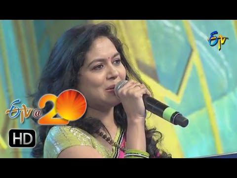 Sunitha,Mano Performance - Chinuku Chinuku Andelatho Song In Sangareddi ETV @ 20 Celebrations