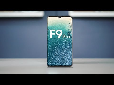 OPPO F9 Pro with 6.3-inch FHD+  First Look 2018