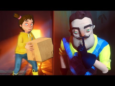 СЕКРЕТ СОСЕД ► Secret Neighbor | Привет Сосед