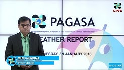 Public Weather Forecast Issued at 4:00 AM January 31, 2018