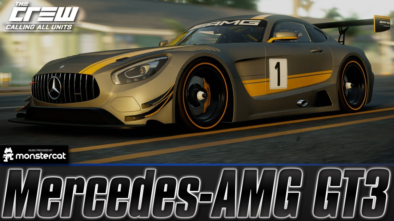 the crew calling all units mercedes amg gt3 circuit spec customization test drive youtube. Black Bedroom Furniture Sets. Home Design Ideas