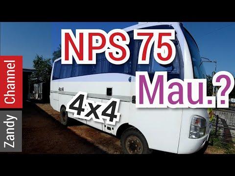 Review singkat isuzu microbus nps 75 .4x4 (dijual)