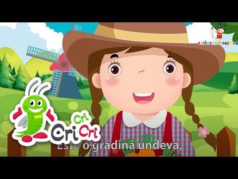 Grădina mea - Cantece pentru copii - CriCriCri
