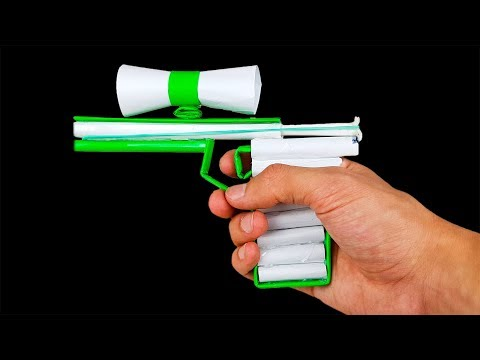 Paper Sniper Pistol - Easy DIY Paper Gun for 20 Minutes