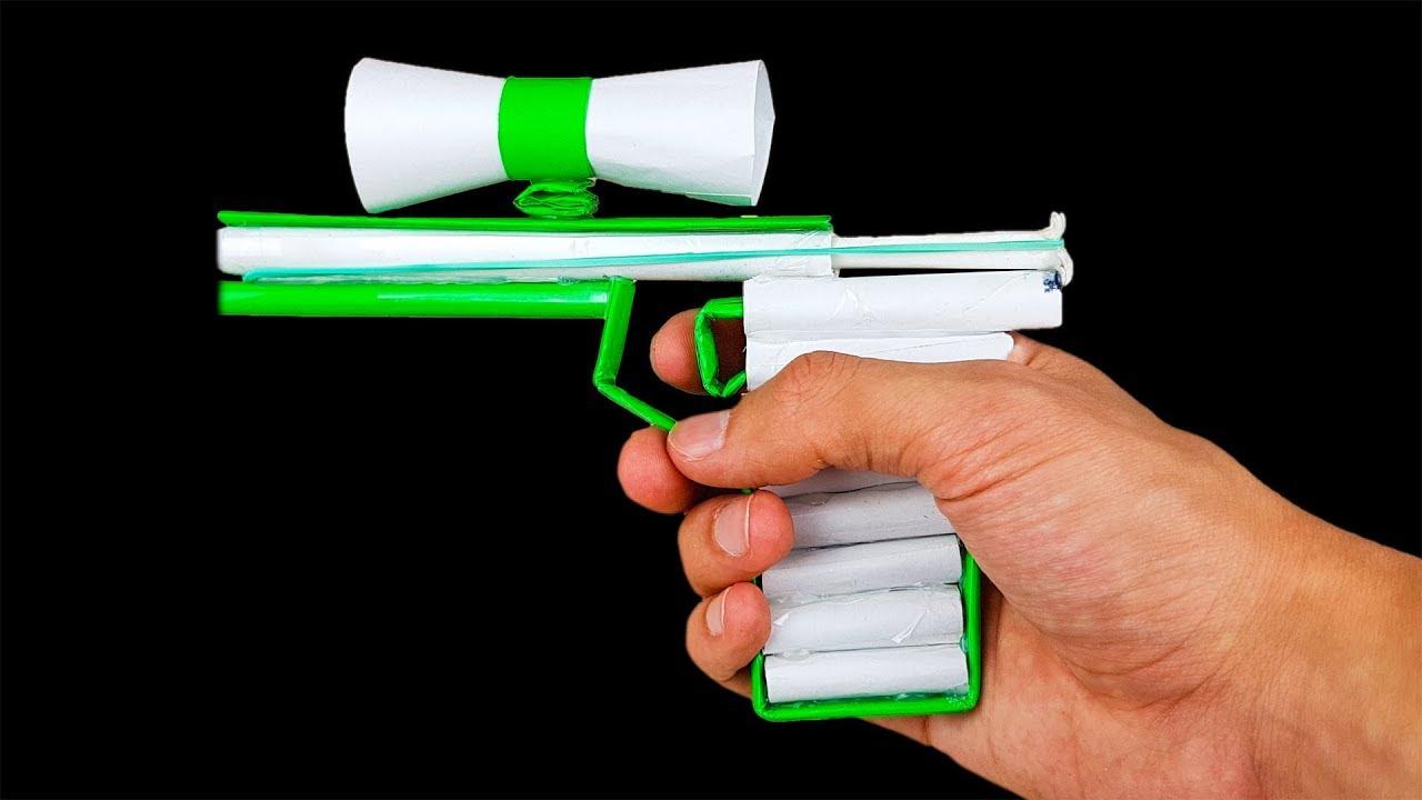 paper sniper pistol  easy diy paper gun for 20 minutes