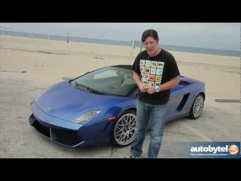 2012 Lamborghini Gallardo LP 550-2 Spyder Test Drive & Exotic Supercar Video Review