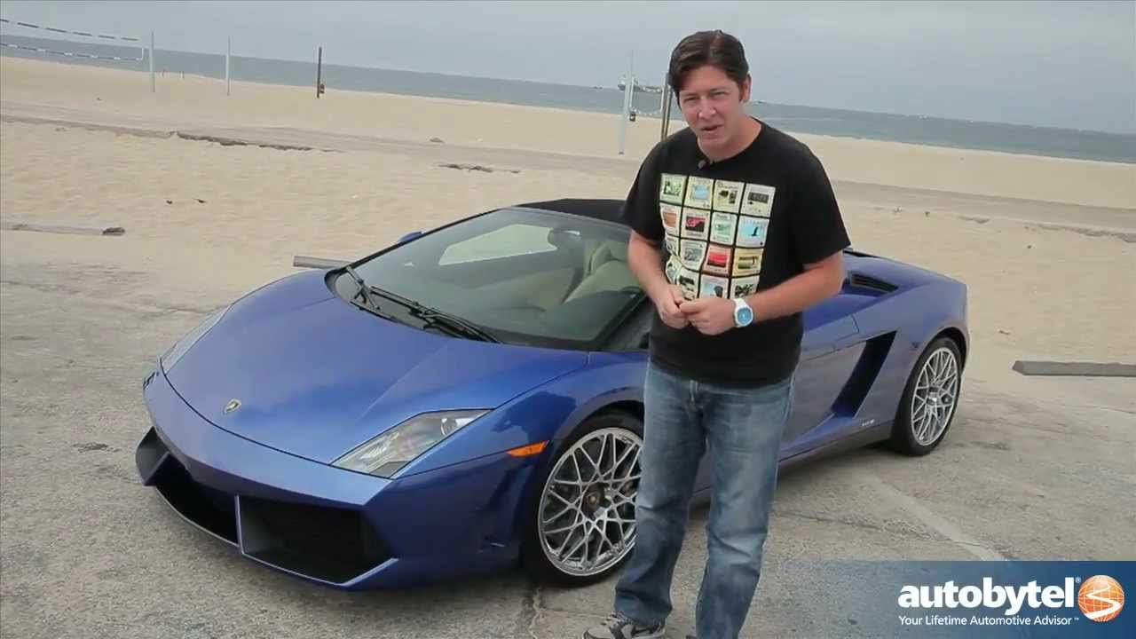 Great 2012 Lamborghini Gallardo LP 550 2 Spyder Test Drive U0026 Exotic Supercar  Video Review   YouTube