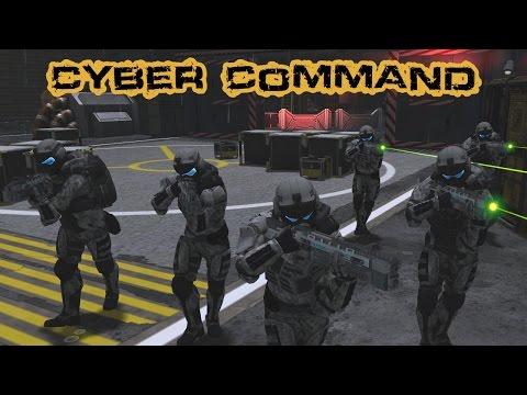 Sci-Fi Mod - Cyber Command (Men of War: Assault Squad 2) |