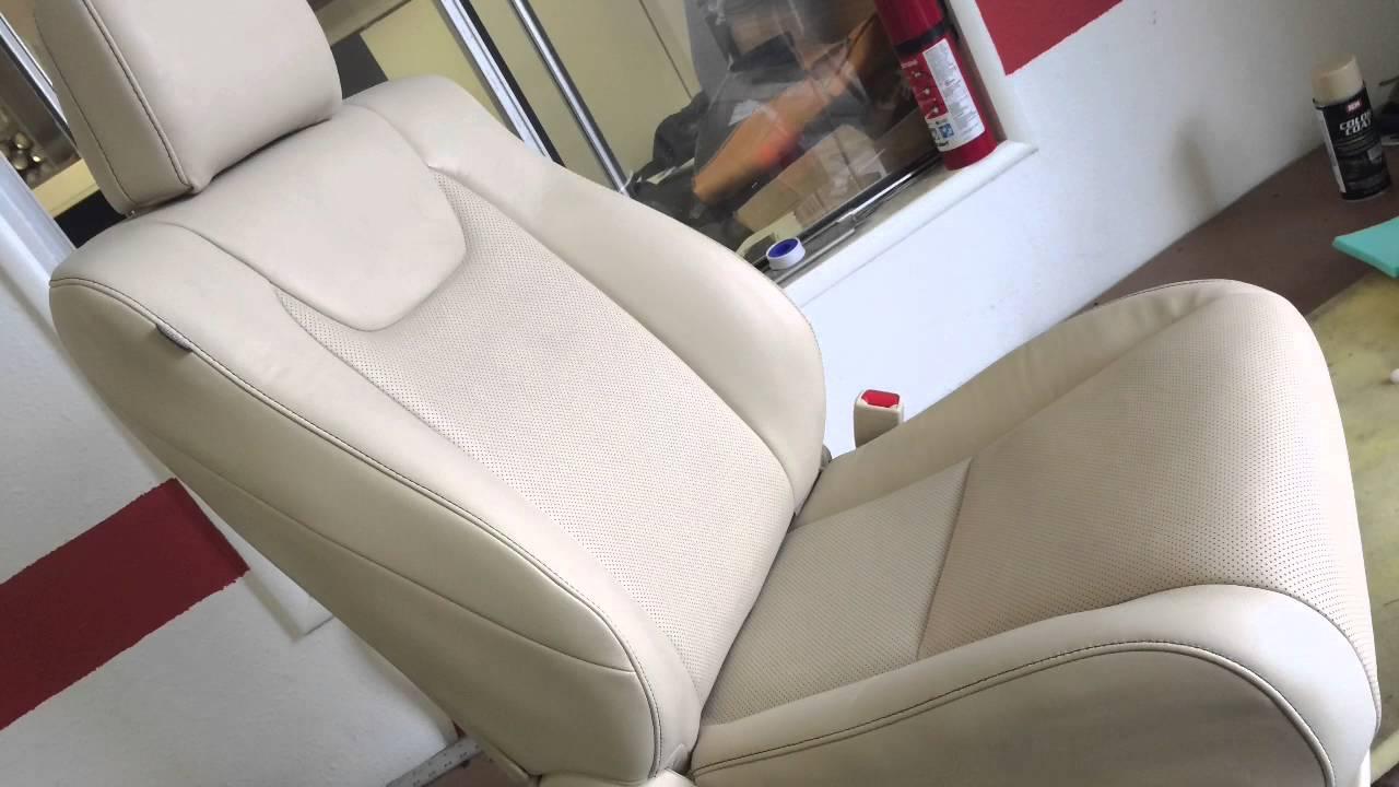 Lexus Rx Seats Repair In Los Angeles Youtube