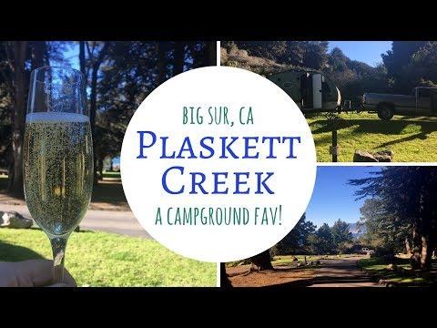 Plaskett Creek ~ Big Sur, California ~ A Campground Fav!
