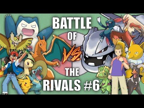 Battle of the Rivals #6 (Ash vs Harrison) - Pokemon Battle Revolution (1080p 60fps)