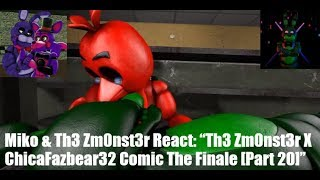 "Miko & Th3 Zm0nst3r React: ""Th3 Zm0nst3r X ChicaFazbear32 Comic The Finale [Part 20]"""