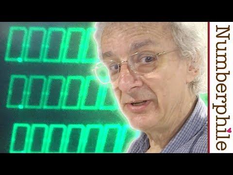 An astonishing old calculator - Numberphile