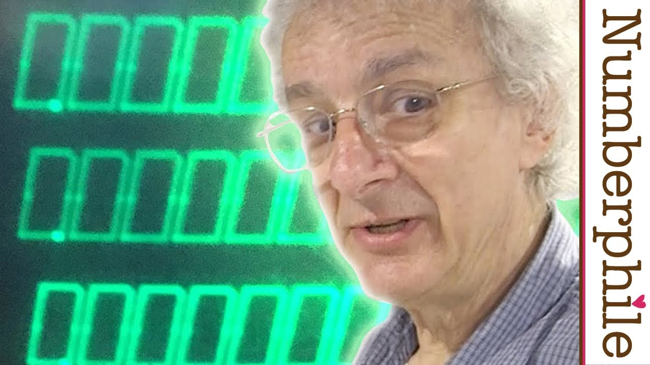 An astonishing old calculator - Numberphile