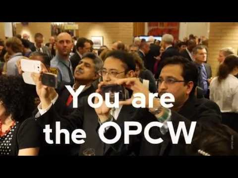 OPCW Nobel Peace Prize 2013 Backstage