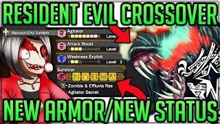 Resident Evil Event Breakdown - New Armor - New Vaal - New Status - Monster Hunter World Iceborne!