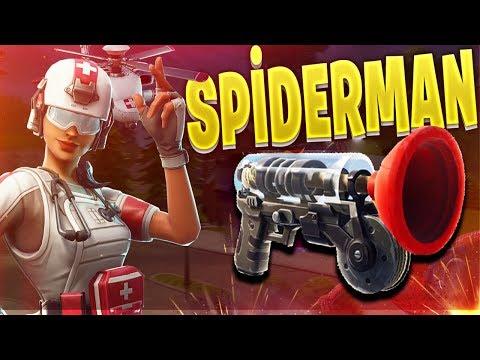 SPIDERMAN BATUHAN! (Türkçe Fortnite)