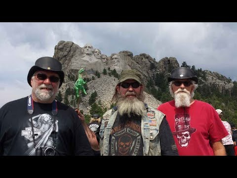 Sturgis 2017 trip to Mount Rushmore(please share to your Facebook)