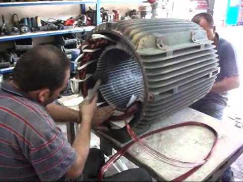 250 KW Elektrik Motoru Sarımı