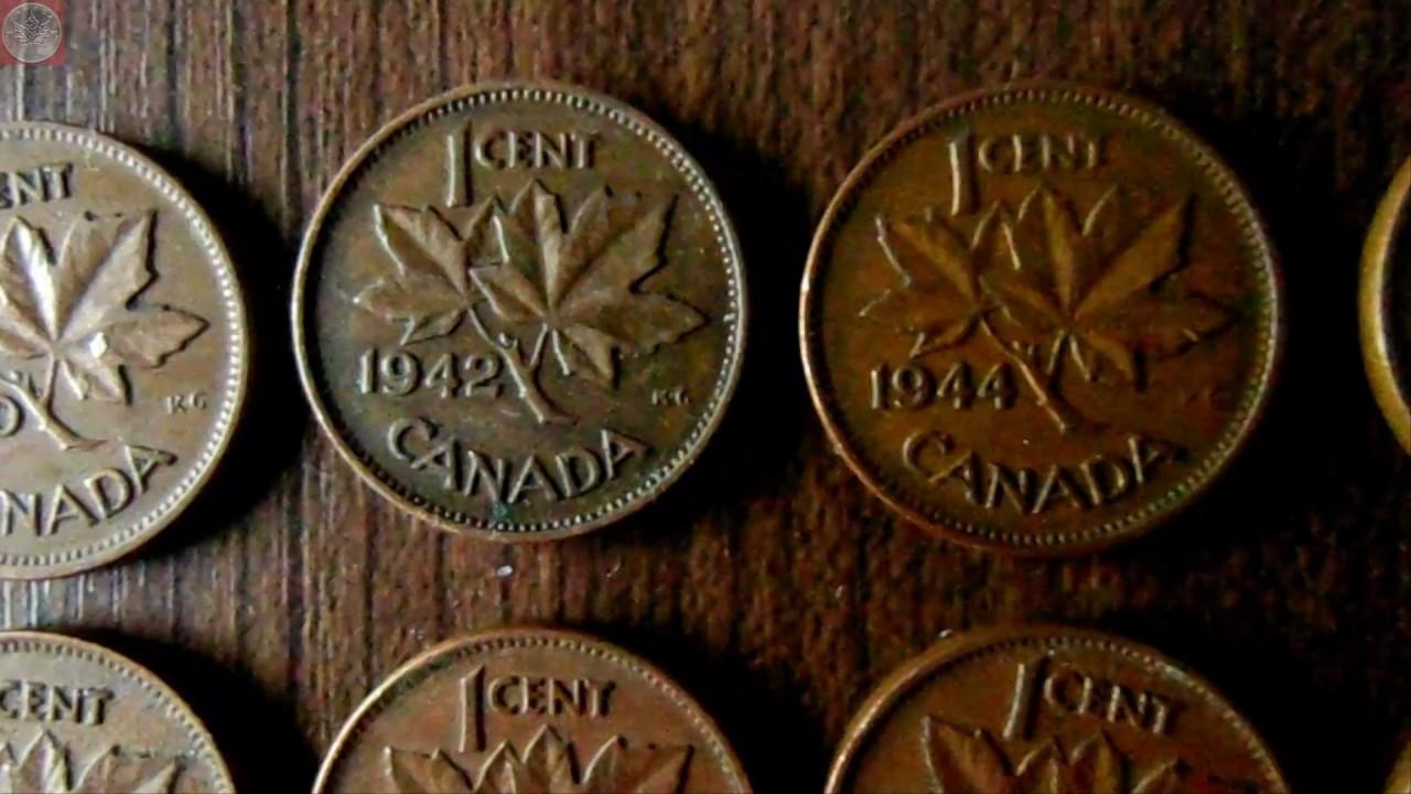 Münzrollenjagd 10 900 Us Amerikanische Und Canadische 1 Cent