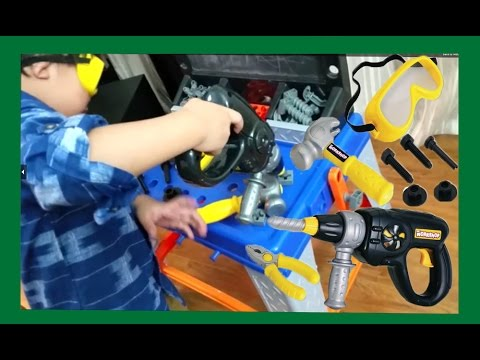 WORLD YOUNGEST CARPENTER WITH MULTI TOOL SET FOR KIDS