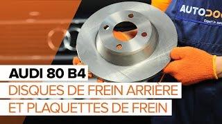 Montage Coupelle d'Amortisseur arrière et avant AUDI 80 (8C, B4) : vidéo gratuit