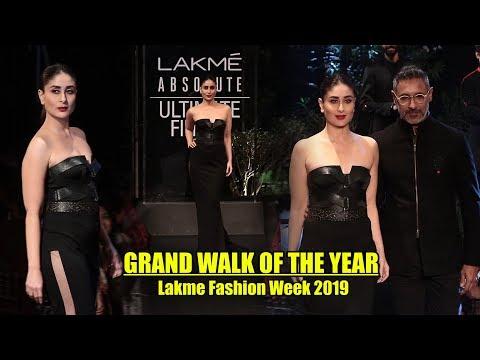 Lakme Fashion Week 2019 GRAND FINALE | Kareena Kapoor #LFW2019